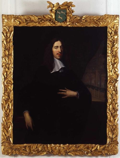 3 & 11 Baen J de  Portret van Johan de Witt met lijst ed sm