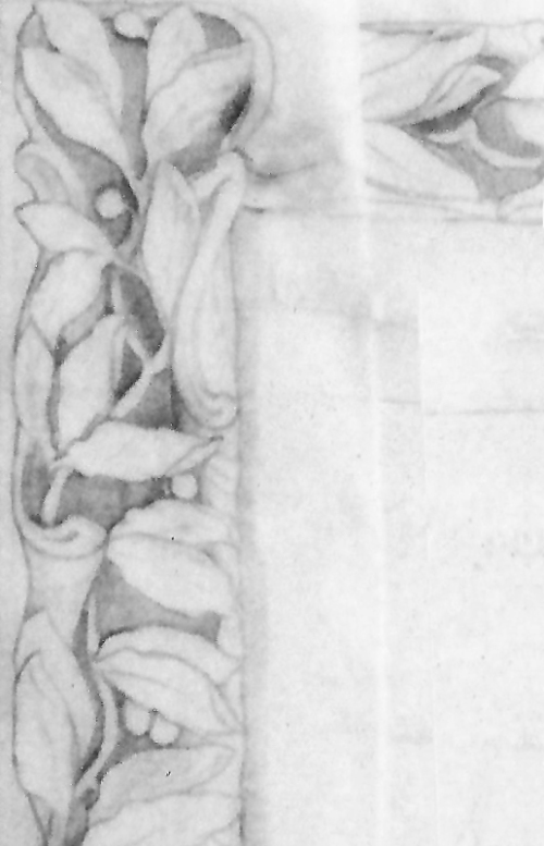5 Drawing of frame detail
