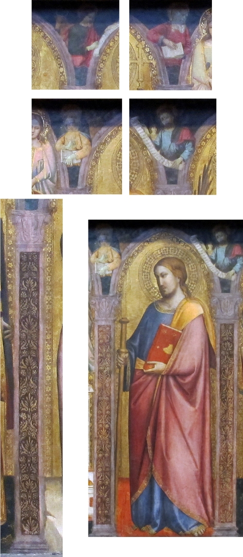 Fig 2 Evangelists Saint & pilaster