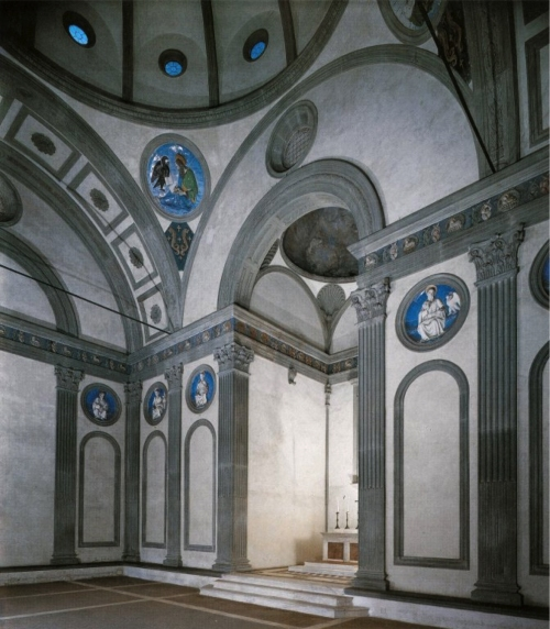 Fig 26 Pazzi Chapel Sta Croce 3