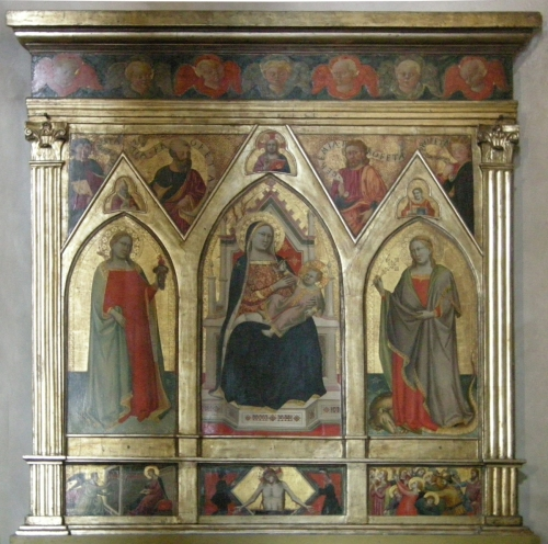 Fig 32 San Martino  a Mensola Taddeo Gaddi c1350 sm
