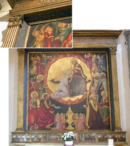 Fig 36 Neri di Bicci Incoronazione della Vergine sm
