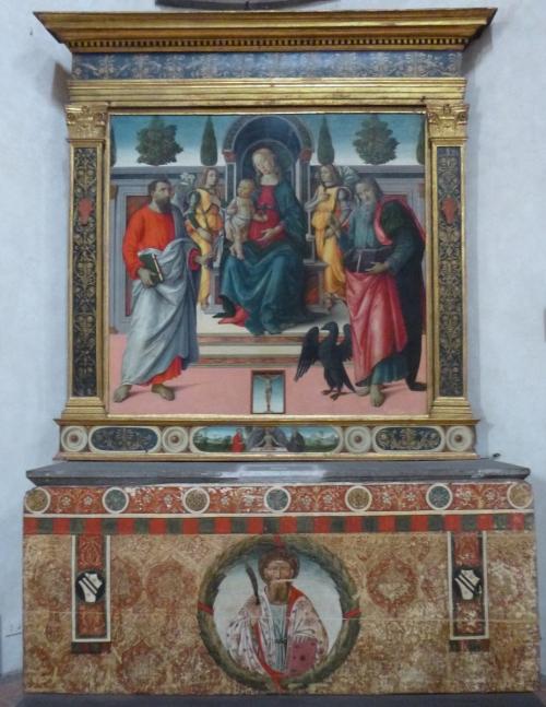 Fig 40 Santo Spirito Ubertini Baldelli Chapel Agnolo di Domenico del Mazziere Adrian sm