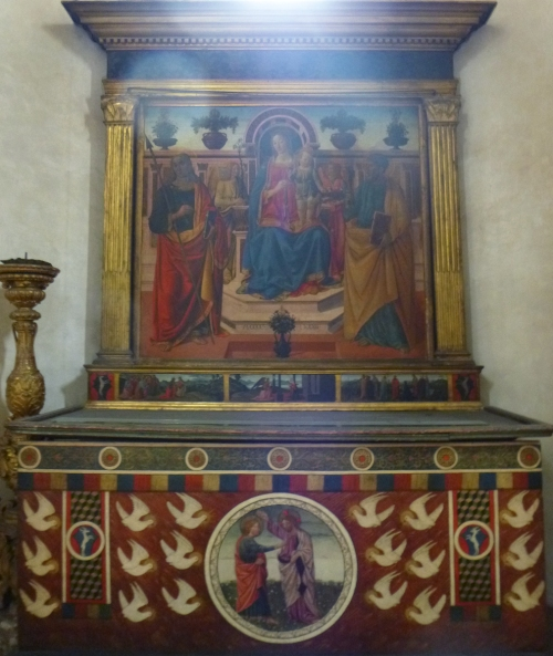 Fig 42 Cosimo Rosselli Madonna & Child with saints & angels Adrian sm