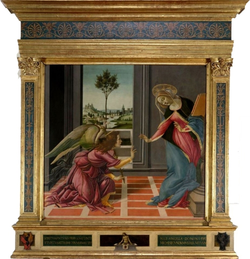 Fig 50 Botticelli Annunciation sm
