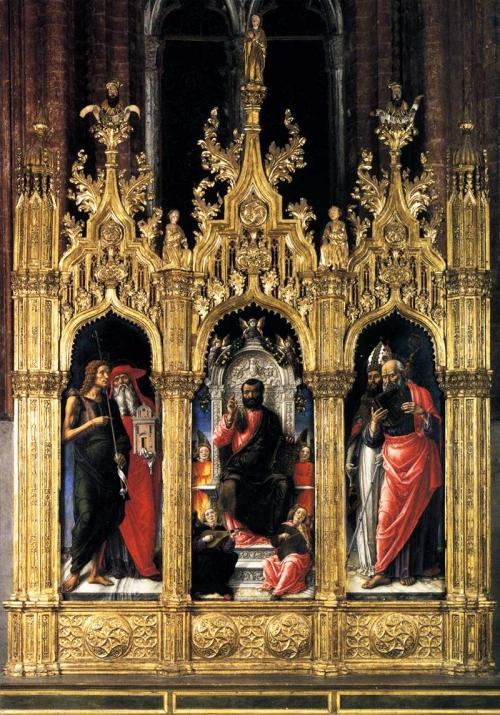 Fig 52 Bartolommeo Vivarini San Marco Altarpiece
