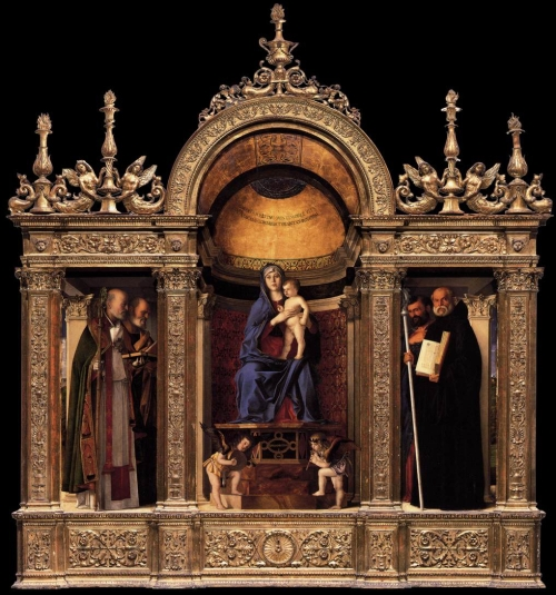 Fig 55 Giovanni Bellini Frari Triptych sm