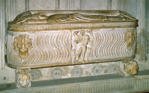 11 Tomb of Davanzati Santa Trinita Florence Photo Baldiri