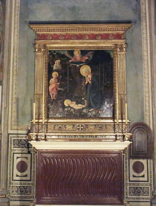 12 Palazzo Medici Strigillated altar slab 2 sm