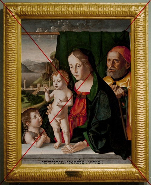 14 Palmezzano Holy Family with John the Baptist Phoenix Art Mus Arizona censored