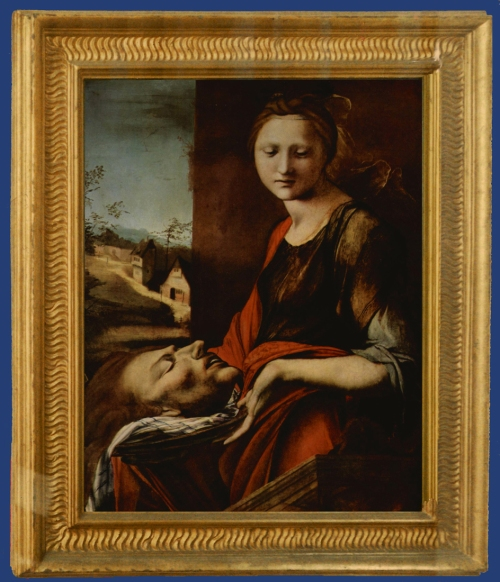 15 Alonso Berruhguete Salome with head of John the Baptist Uffizi Florence sm