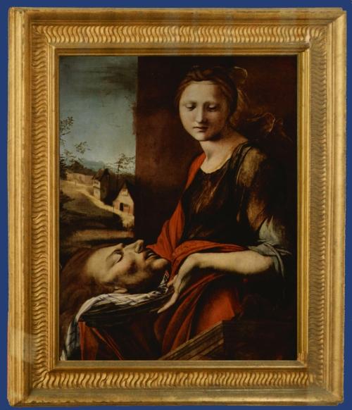 15 Alonso Berruhguete Salome with head of John the Baptist Uffizi Florence sm