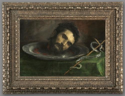 16 Spanish or N Italian School Head of John the Baptist c1550to1650 Cleveland Museum of Art