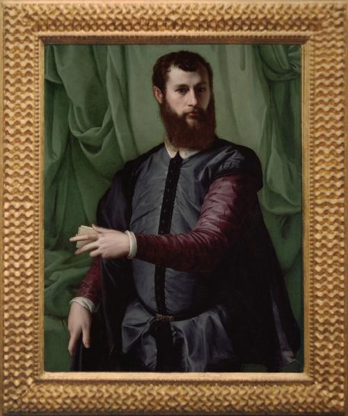 20 Francesco Salviati 1510to63 Portrait of a man c1550 to55 J Paul Getty Museum Malibu 2