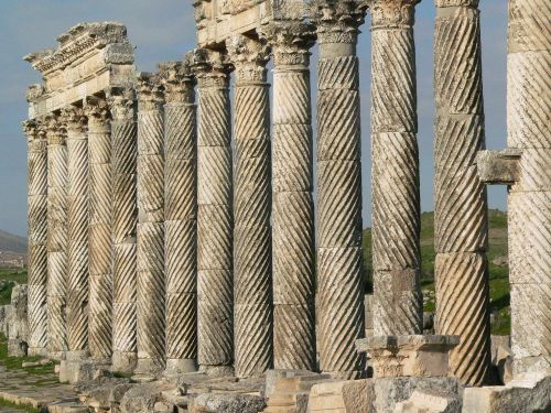 4 Great Colonnade at Apamea in Syria