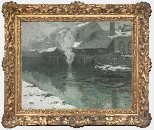 A Schofield Winter in Picardy 1907 Philadelphia Mus of Art 1 sm