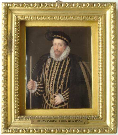 Henry Bone Henry Carey Lord Hunsden Brit School 1800 Kingston Lacy NT