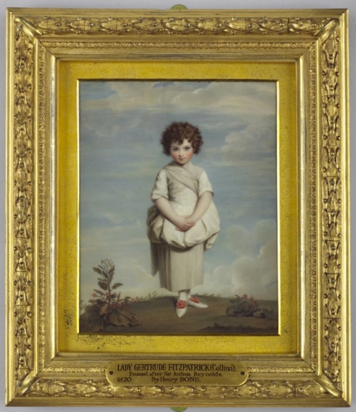 Henry Bone Lady Gertrude Fitzpatrick after Reynolds 1810 Wallace Collection M20 sm