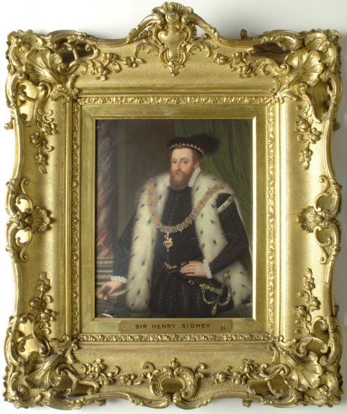 Henry Bone Sir Henry Sidney after Arnold Bronckorst c1822 Kingston Lacy NT