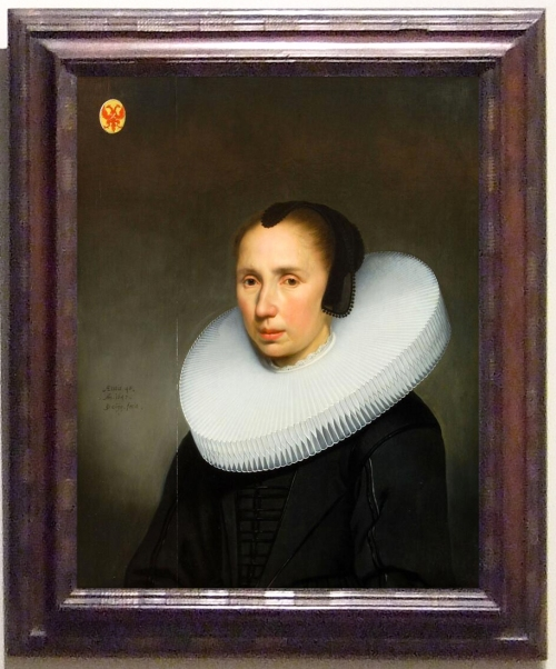 Jacob Gerritsz. Cuyp Portrait of Emerentia van Driel sm