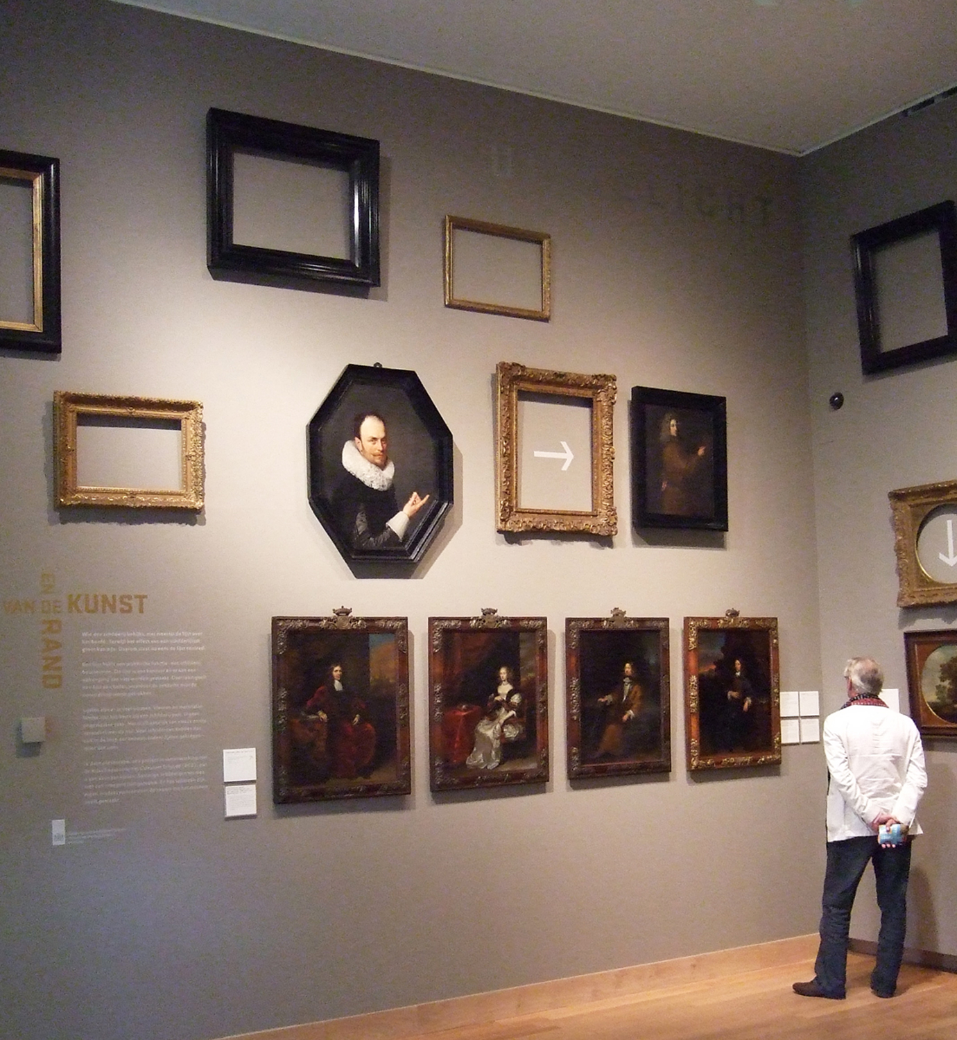 On Art and its Margins: the Frame in the Centre: an exhibition at ...