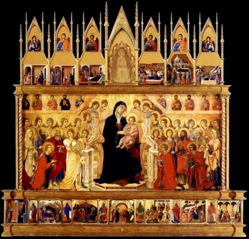Duccio Maestà 1308to11 Duomo Siena