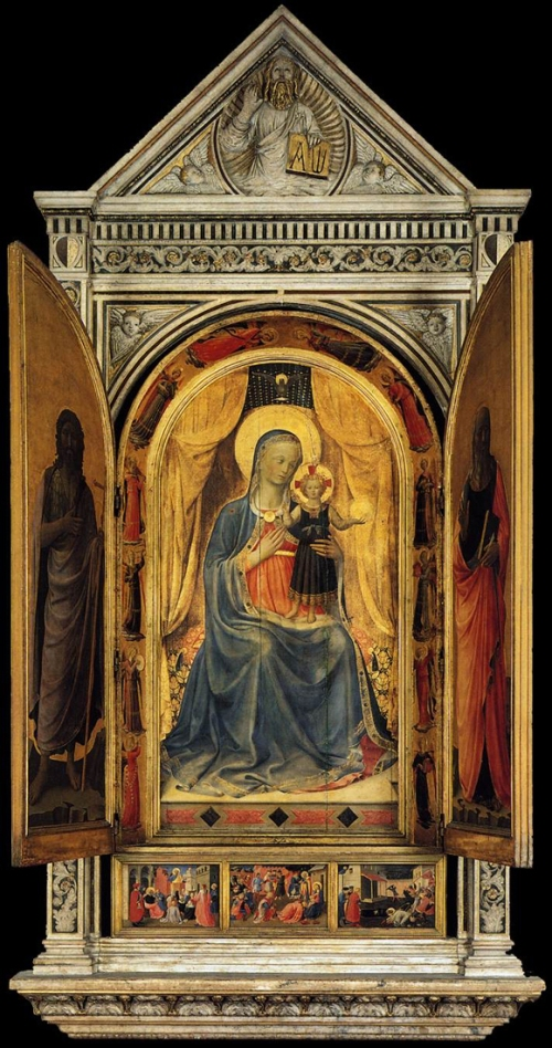 Fig h Fra Angelico Tabernacle of the Linaiuoli
