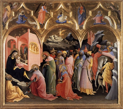 Lorenzo Monaco Altarpiece Sant Egidio Florence