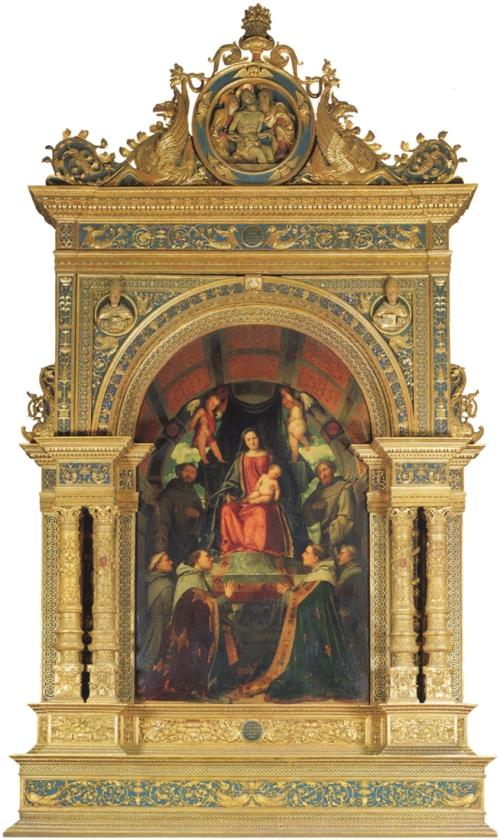 Romanino Pala of S Francesco Ancona di Stefano Lamberti Ch of S Franceso Brescia sm