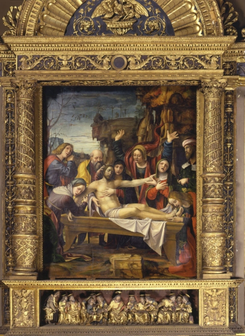 Z Bernardo Zenale Deposition 1509 San Giovanni, Brescia 2