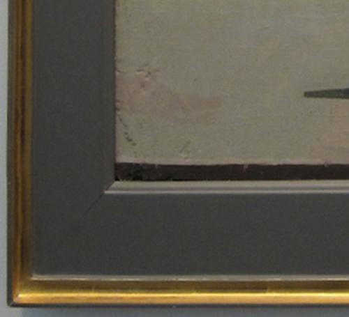 Euan Uglow. Flowerpiece detail