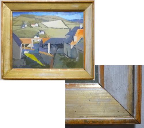Robert Dukes After Balthus A courtyard & detail sm