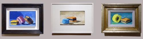 Robert Dukes Three Allsorts paintings sm