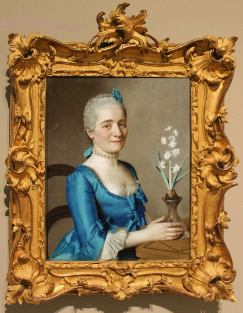 Liotard Lady with a jonquil 1750to59 Geneva sm