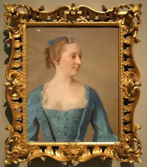Liotard Miss Bacon c1753to55 Private coll sm