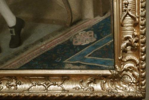 Liotard Portrait of John Lord Mountstuart detail Getty Museum