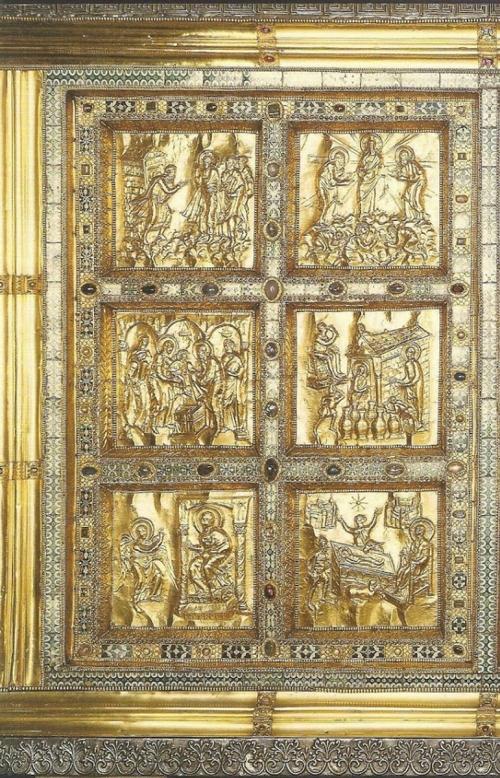 Magister Phaber Vuolvinius Altare d'oro 824to59 detail