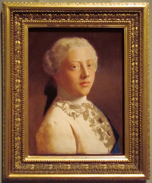 P Prince of Wales later George III 1754 Royal Collection ed sm