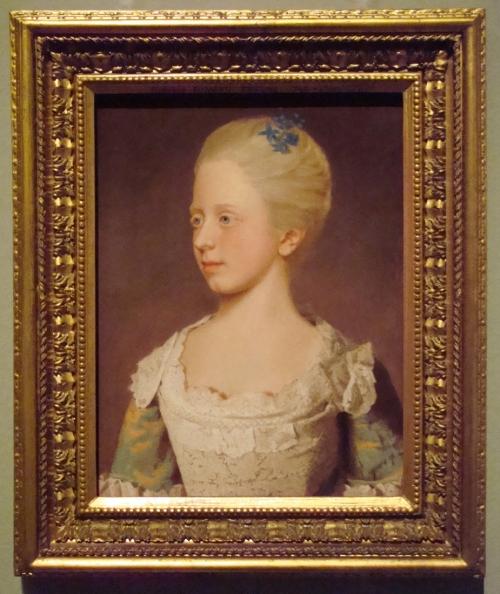 P Princess Elizabeth Caroline 1754 Royal Collection ed sm