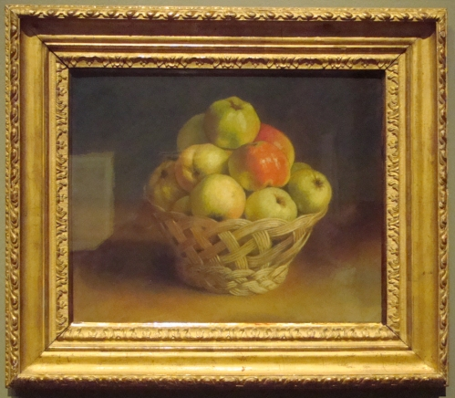 P Still life with a basket of apples 1787 private collection ed sm