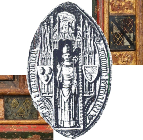 Seal of Henry Despenser & coats of arms