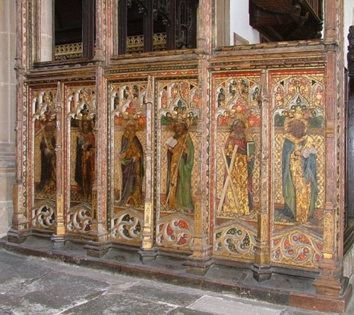 St Edmunds Southwold Rood screen 1