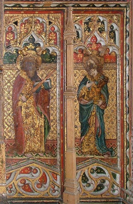 St Edmunds Southwold Rood screen 3