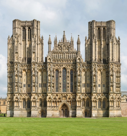 Wells Cathedral West Front David Liff sm