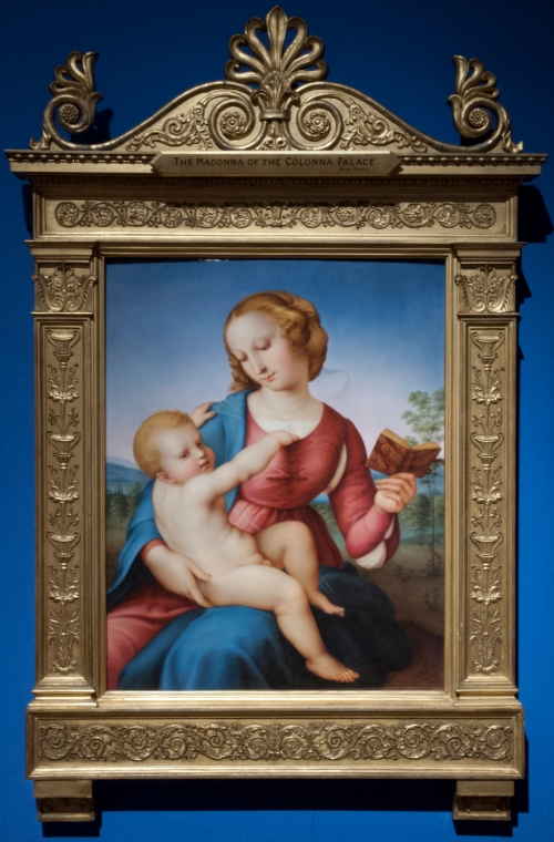 Frame for RCIN 404017 after Raphael The Colonna Madonna c.1848to58