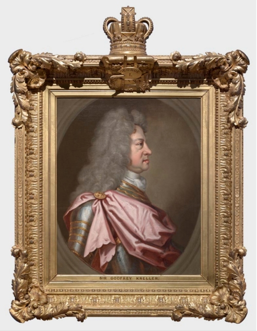 RCIN 403401 Studio of Kneller George I King of Great Britain & Ireland Elector of Hanover 1st quar C18