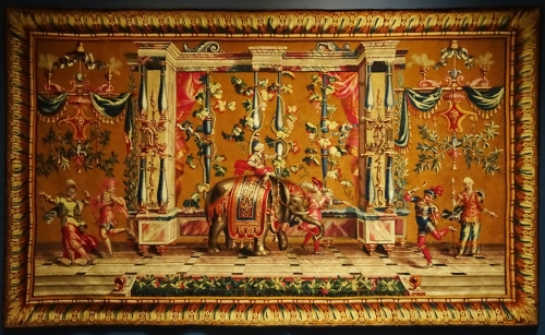 13 J B Monnoyer 1636to99 Tapestry c1700to20 V & A sm