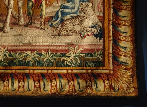 14 J B Monnoyer 1636to99 Tapestry Camel c1700to20 V & A sm