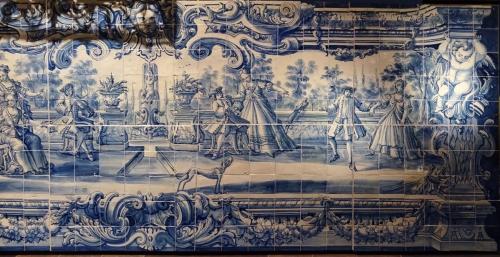 15 Azulejos Lisbon c1720to30 sm