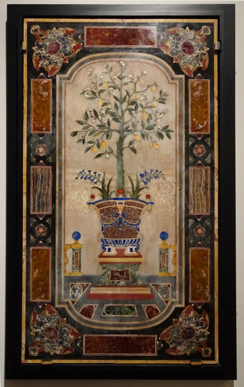 3 Matteo Nigetti Pietre dure panel early C17 Florence V & A sm